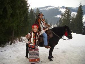 лошади гуцулы