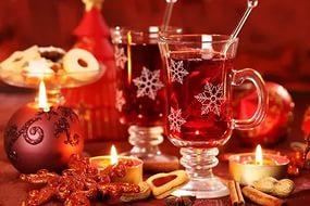 новогод стаканы