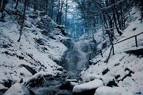 водопад шепот