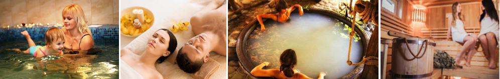 картинка Отдых и Спа в Закарпатье, чаны, термальные бассейны, бани