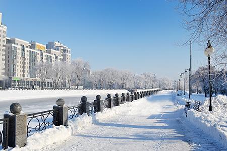 картинка Заснеженный Харьков Экскурсии сборные пешеходные по городу