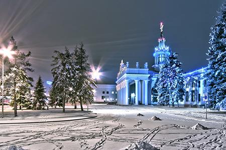 картинка Зимний Харьков Экскурсия
